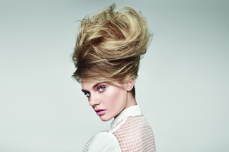 MAKE IT BIG - with sky-high hair that stays in place