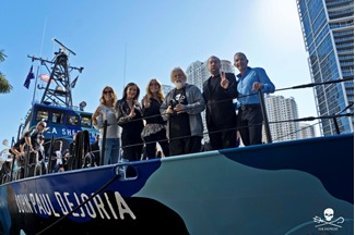 SEA SHEPHERD LAUNCHES ITS NEWEST VESSEL, THE M/V JOHN PAUL DEJORIA