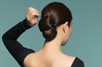 Runway Hair You Can Wear: Uptown Bun