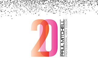 Celebrating 20 years of colour with Paul Mitchell® Professional Hair Colour