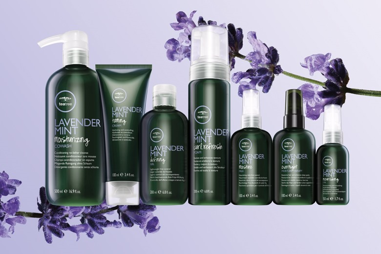 Love your curls with Lavender Mint